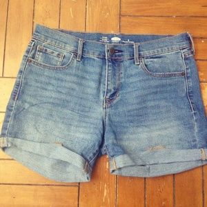 OLD NAVY Fitted Denim Shorts